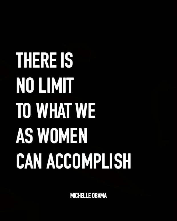 Michelle Obama Quotes About Women