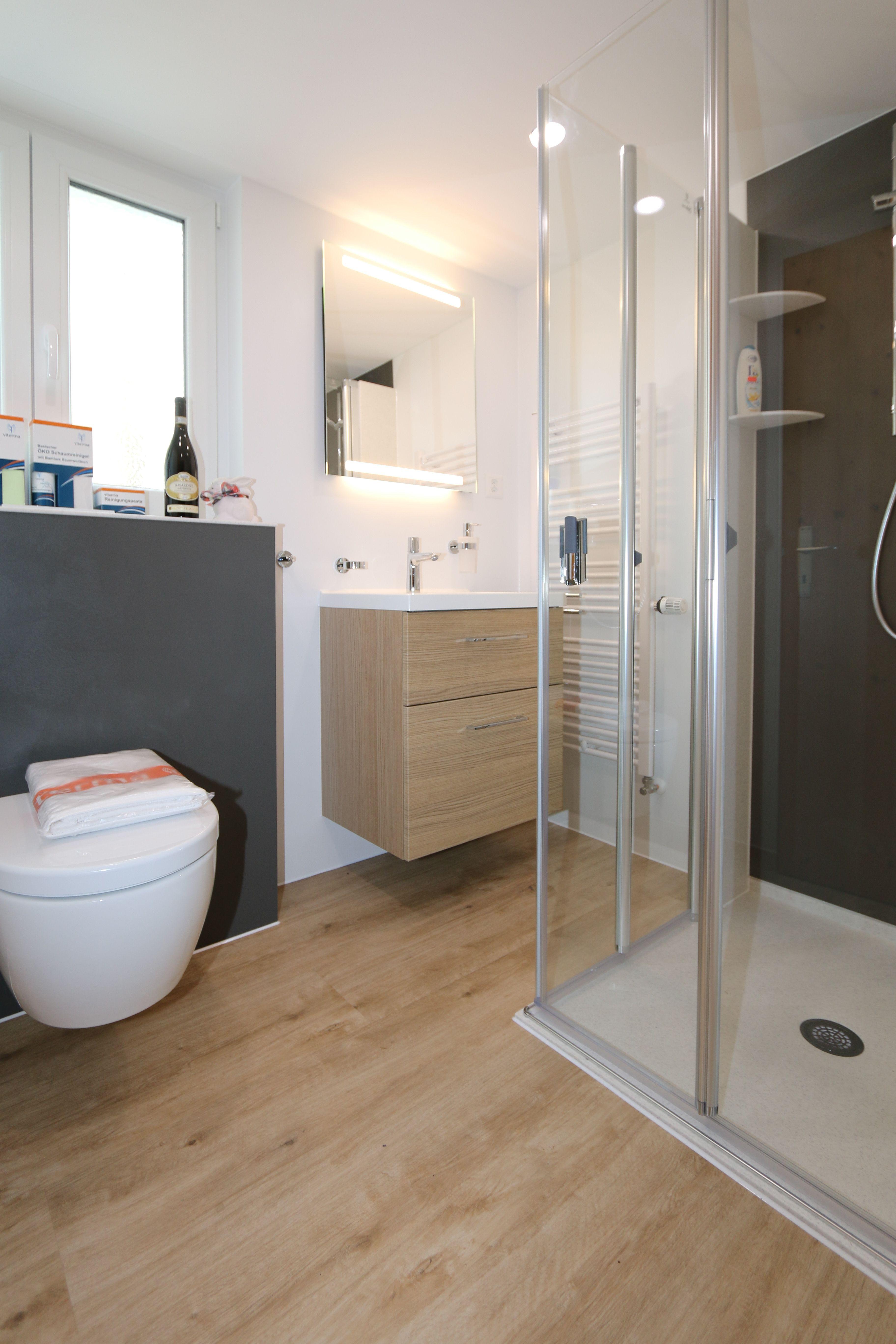 Traumbad Mit Bodengleicher Dusche Von Viterma Badsanierung Sanierung Neues Badezimmer