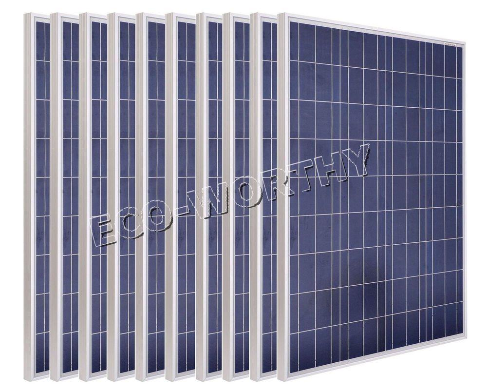 100w 200w 300w 400w 500w 1000w Solar Panel 100watt Pv Solar Module For Rv Boat Ecoworthy Solar Panels Solar Pv Solar Module