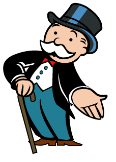 monopoly man google search monopoly floor theme pinterest rh pinterest com Monopoly Question Mark Clip Art Monopoly Characters Clip Art