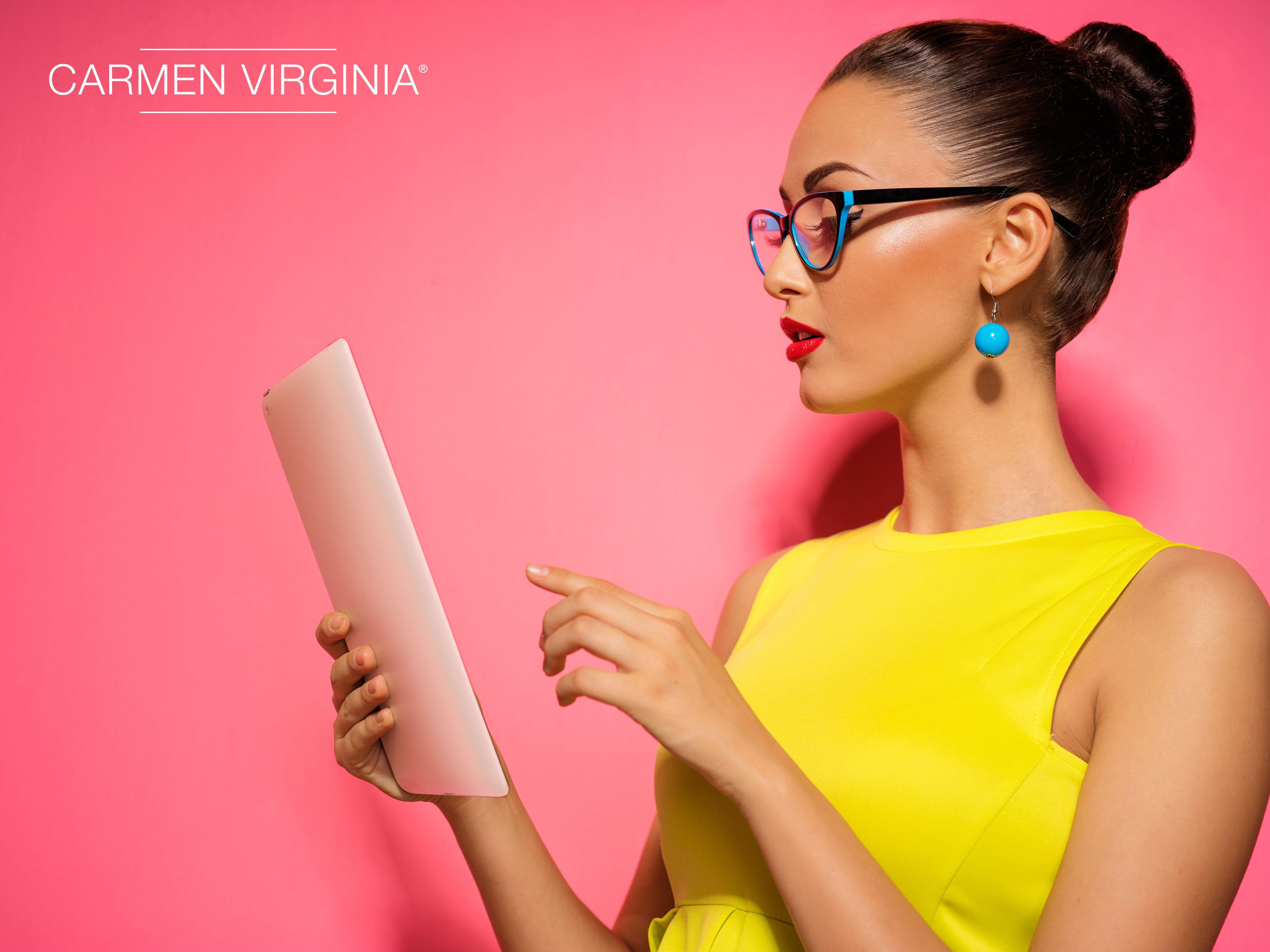 Diseño web para la marca Carmen Virginia. #diseño #web | Proyectos ...