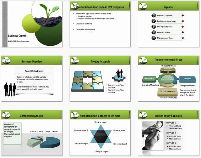 Business Plan Presentation Template Lovely Powerpoint Business Plan Growth Templbusiness