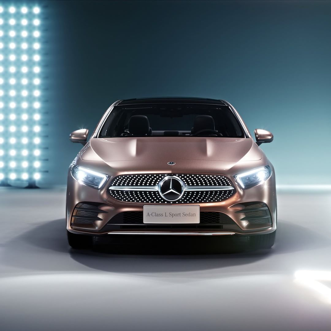 The Front End Design Of The Mercedes-Benz A-Class L Sedan