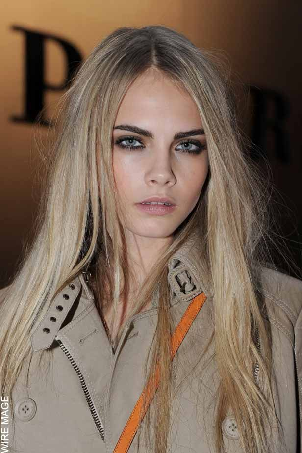 blonde hair dark eyebrows love it hair pinterest