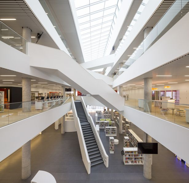 Halifax Central Library | schmidt hammer lassen architects; Photo: Adam Mørk | Archinect