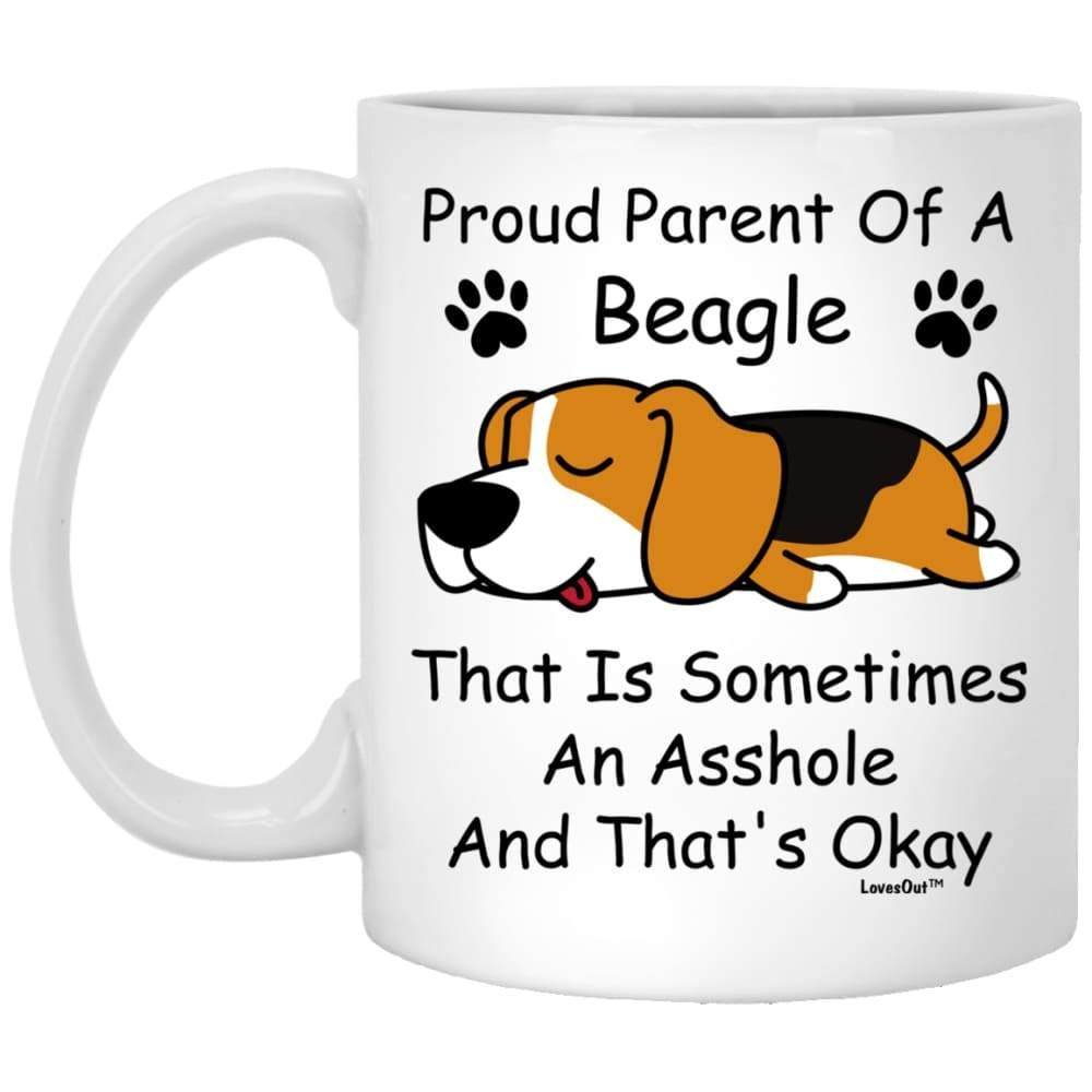 Beagle Parent Gift For Dog Mom Coffee Mug In 2020 Dog Gifts Dog