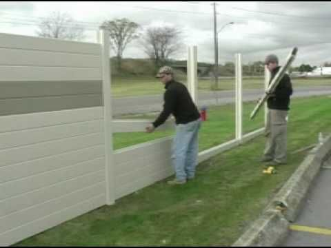 TufBarrier Noise Barrier Wall Install Residential YouTube