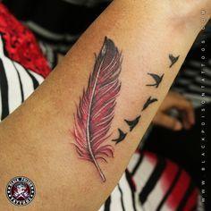 ... Bird Tattoos on Pinterest | Bird Tattoos Feather Tattoos and Tattoos