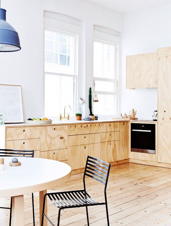 Rustic Home Decor Is Back But Not The Version You Remember Plywood Kitchen Kitchen Interior Melbourne Apartment