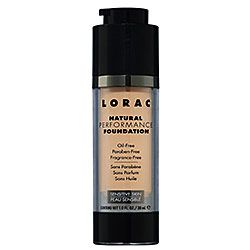 natural foundation -lorac