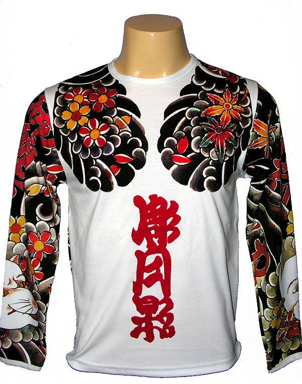 Japanese Tattoo Long Sleeve T-shirt | Japanese T-shirts ...