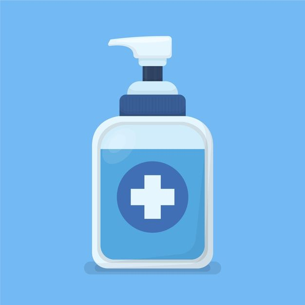 Download Flat Design Hand Sanitizer Container For Free In 2020