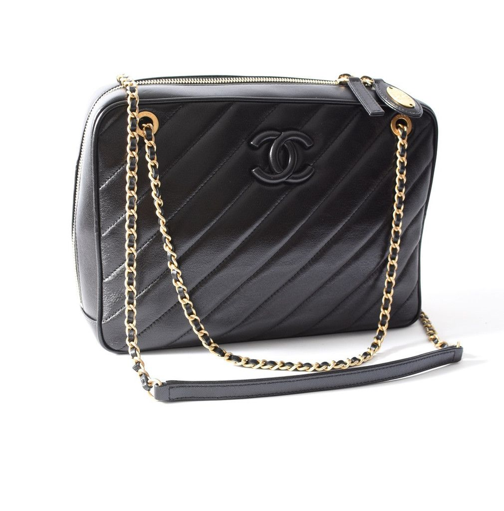 CHANEL Camera Case Bag Crave Luxury Consignment Bags