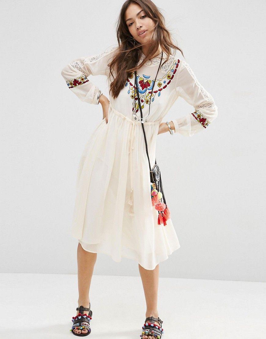 Robe ModeAsos Style À Premium Et Broderies AztèqueModitude VzpSUM