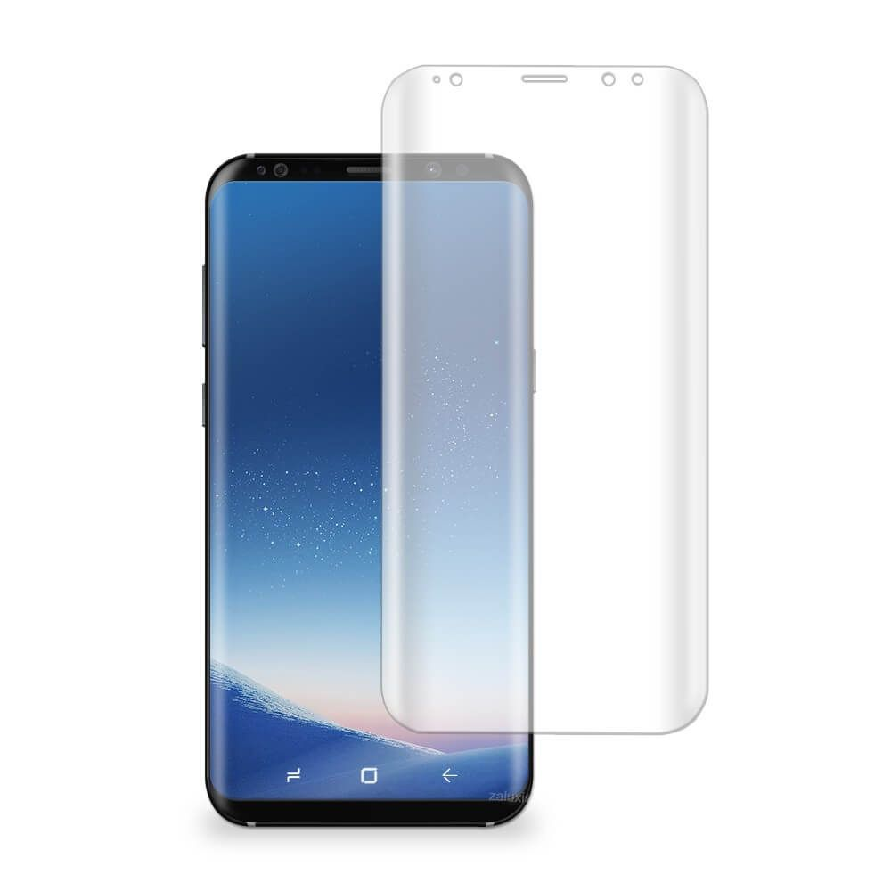 2x Display Folie For Samsung Galaxy S8 Front Screen Protector Film Clear Tpu If You Have A Mobile Phone With The Edge Display The Handy Handys Smartphone