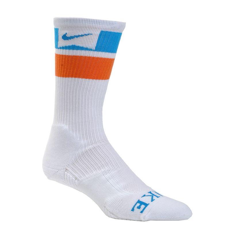 Vertical Urge - Nike SB Skate Elite Skate Crew Socks (White/Neo Turquoise/Electro Orange), $13.95 (http://store.verticalurge.com/nike-sb-skate-elite-skate-crew-socks-white-neo-turquoise-electro-orange/)