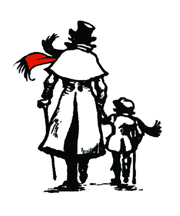 Christmas Carol Scrooge Clipart.God Bless Us Everyone Christmas Christmas Clipart