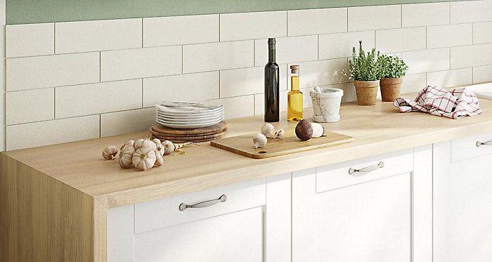 IT Brookfield kitchen range | Kitchen worktop, White gloss ...