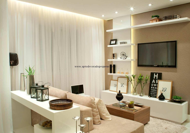 apartamento-decorado-pequeno-fotos-living-planejados (7) | Home ...