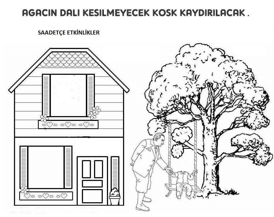 Ebru Ugur Adli Kullanicinin Agac Ve Orman Panosundaki Pin Boyama Sayfalari Sanat Etkinlikleri Sanat
