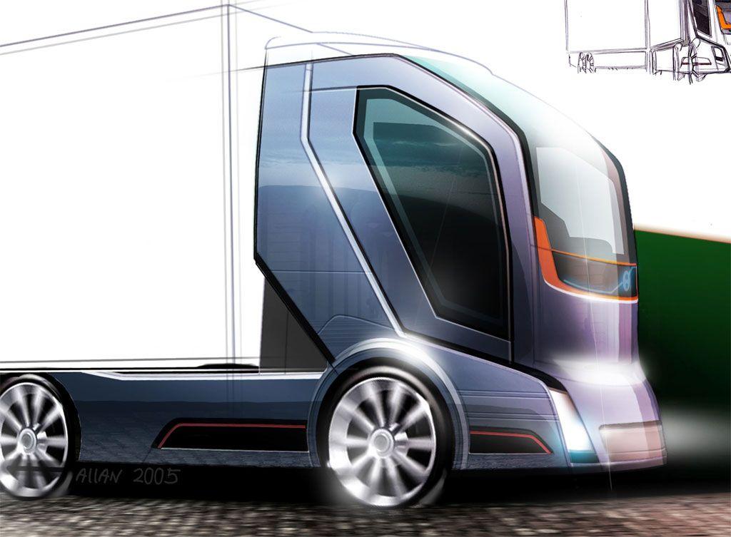 Futuristic Truck Future Vehicle Volvo Concept Truck 2020 Volvo Trucks Truck Design Volvo
