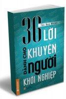 Sách»Phát triển cá nhân»36 Lời khuyên dành cho người khởi nghiệp|
