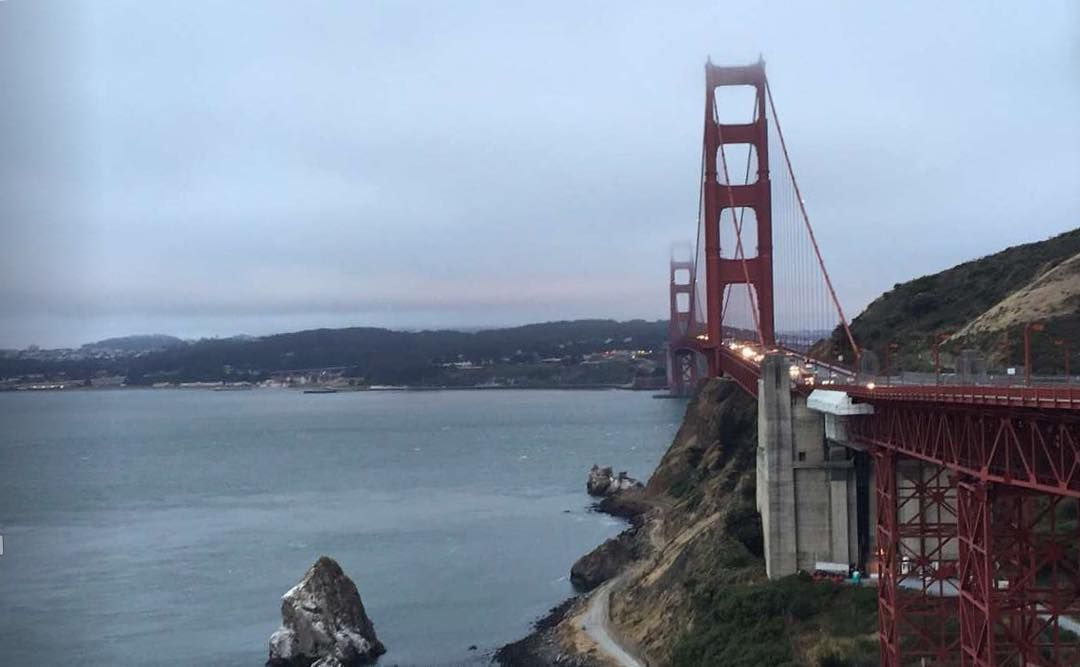 I had to take a picture of one of the wonders of the modern world that's been here since 1937.  RTR Paul. #bayarea #sanfrancisco #goldengatebridge