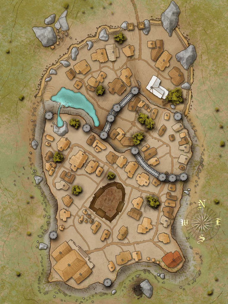 Pin by Bailey Poletti on Maps   Fantasy city map, Dungeon maps