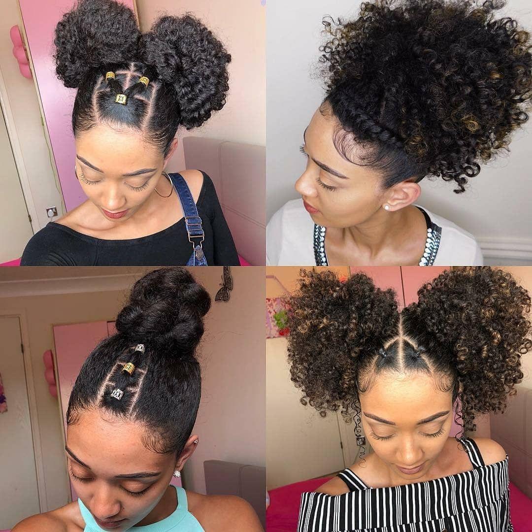 Peinado Afro Versatility Naturalhairloves