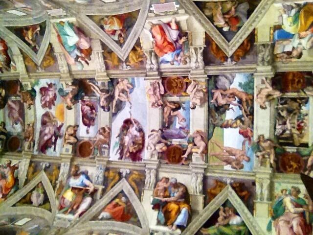Cool interactive site for the Sistine Chapel! Zoom right in on any part of it!