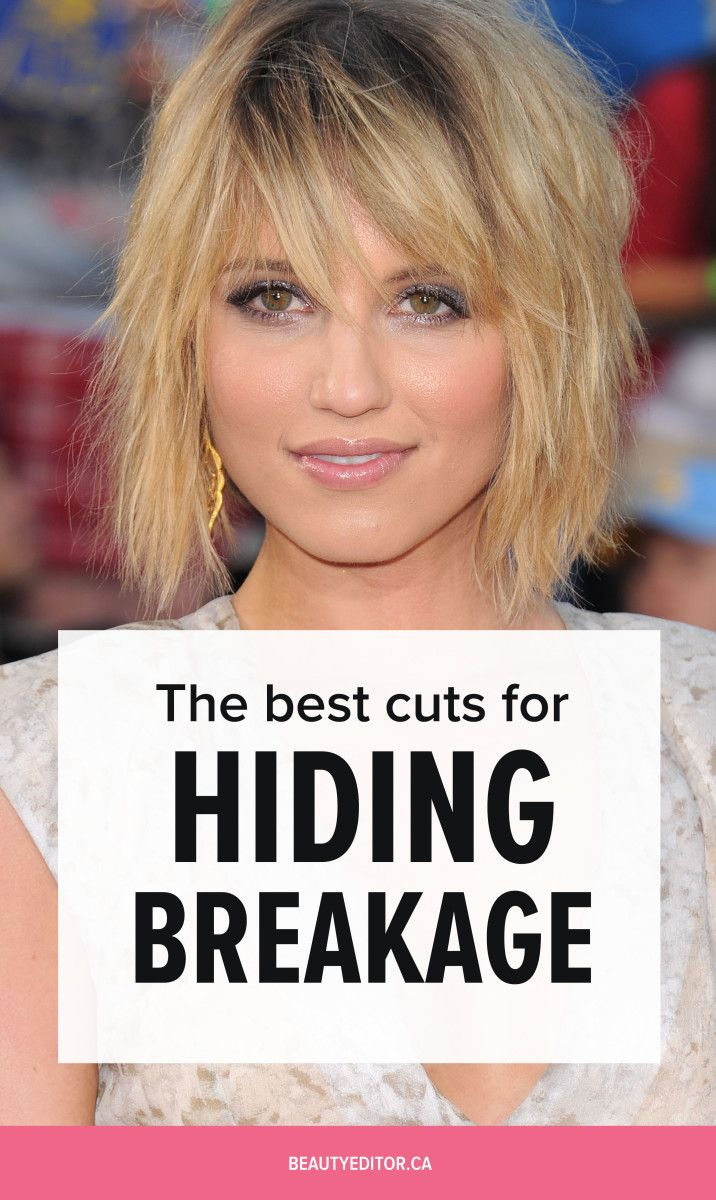 Ask A Hairstylist The Best Haircuts For Broken Damaged Hair Hair Breakage Treatment Growing Out Hair Hair Breakage