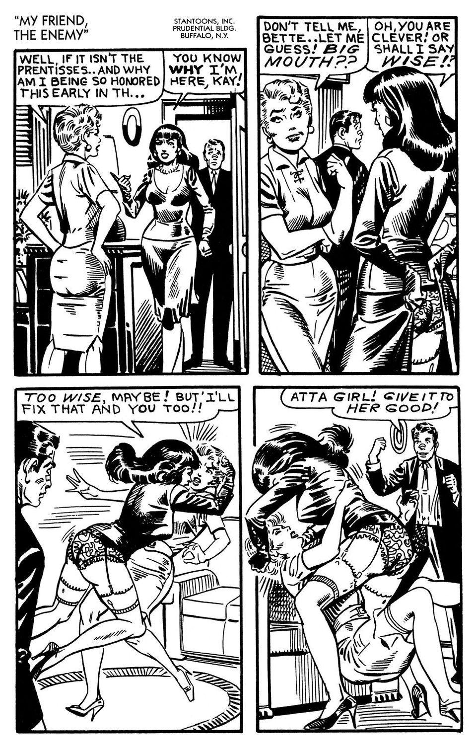 Femdom comic story