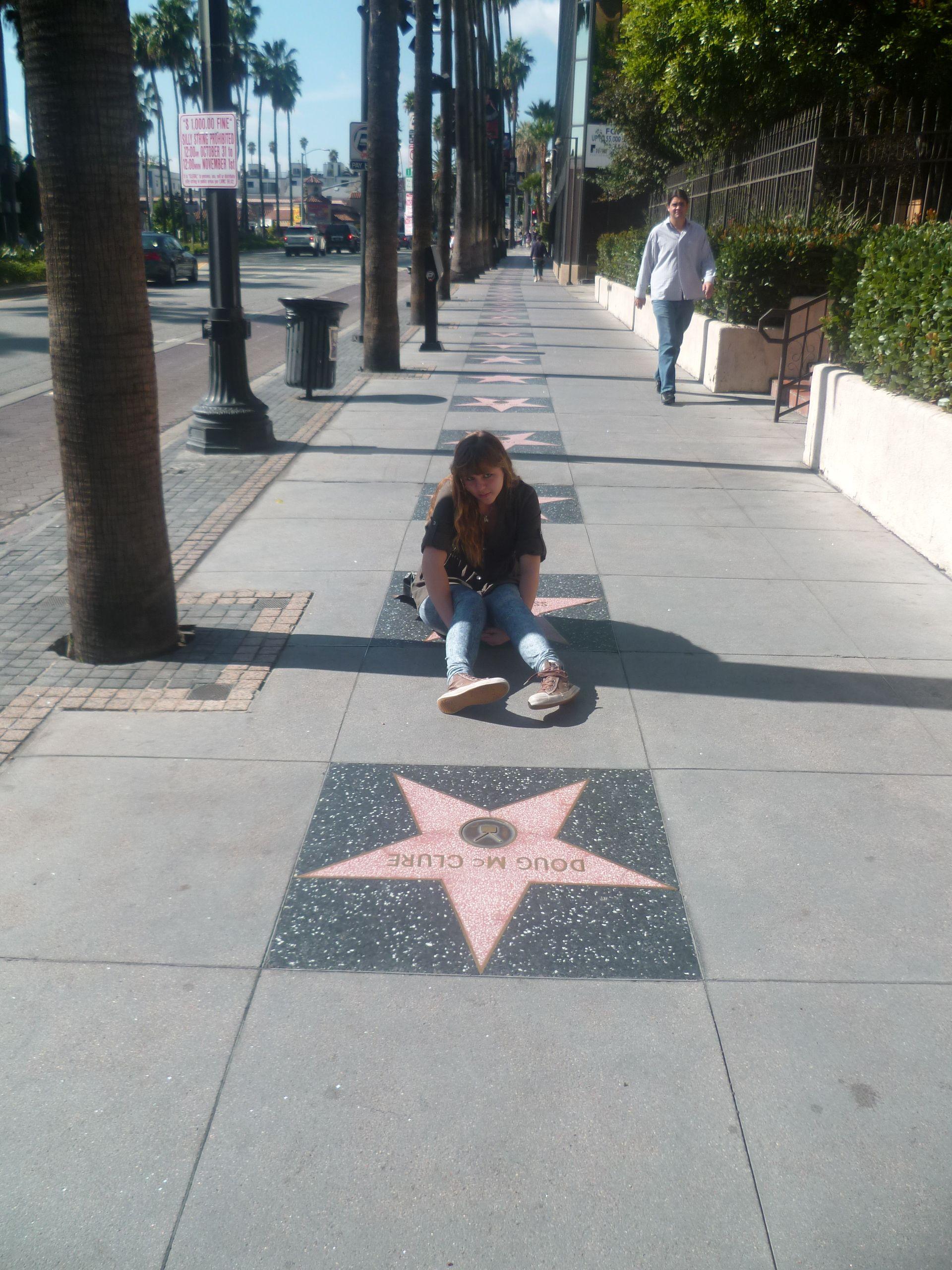 L.A. Hollywood boulevard