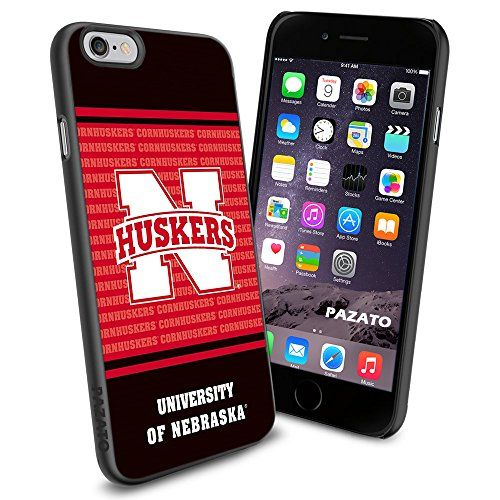 "Nebraska Cornhuskers iPhone 6 4.7"" Case Cover Protector for iPhone 6 TPU Rubber Case SHUMMA http://www.amazon.com/dp/B00T3TM9X0/ref=cm_sw_r_pi_dp_Wyzmvb1VPEWTS"