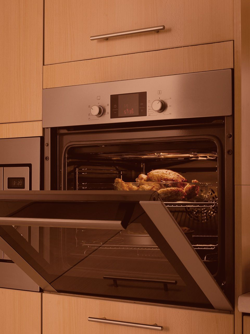 kitchenaid microwave convection oven how to use