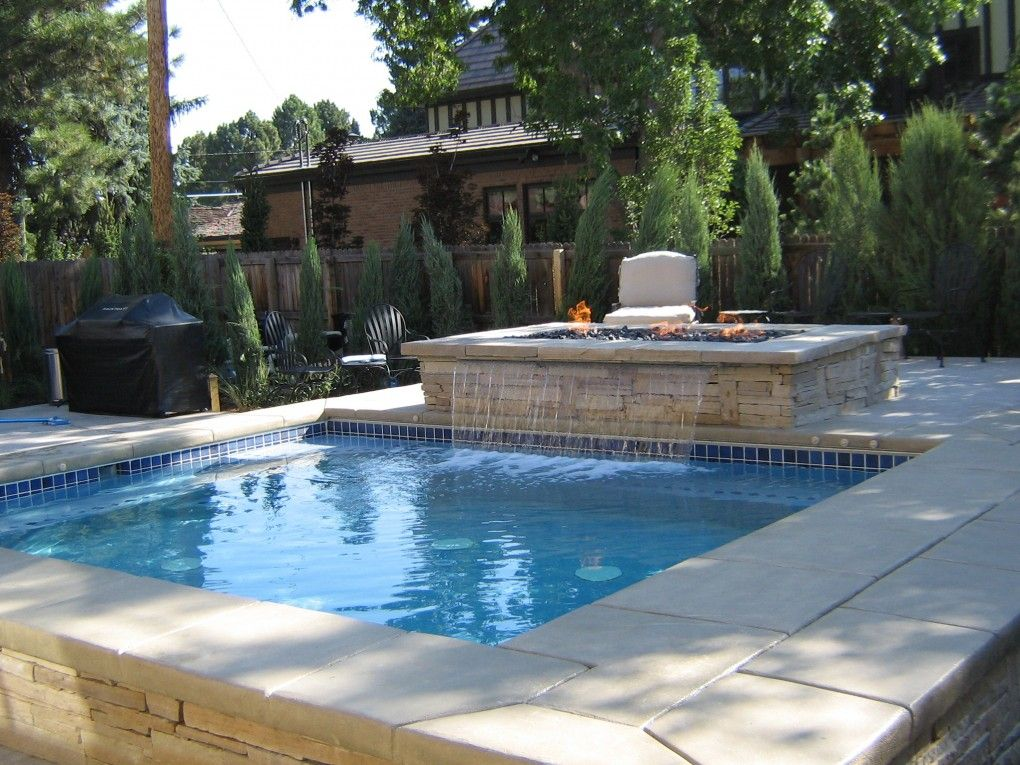 Water Features Pool Denver Pool Contractors Swimming