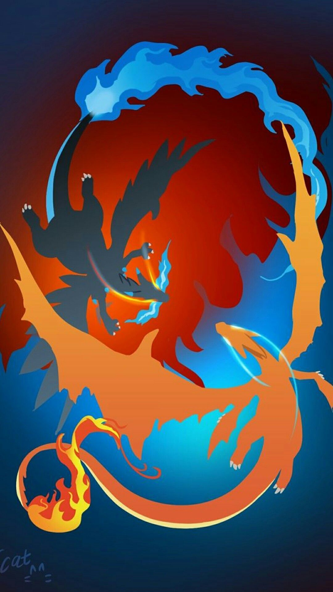 Charizard Pokemon Wallpaper Iphone En 2020 Dibujos De Pokemon