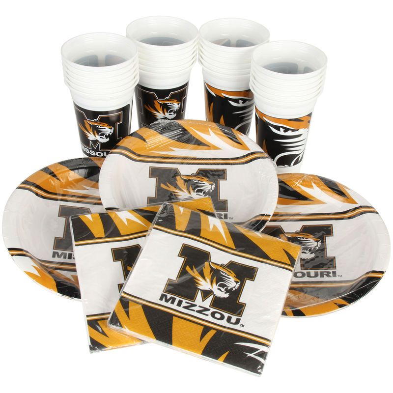 Missouri Tigers Party Pack for 24