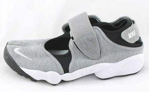 005a68da2c04 Nike Air Rift Mens Shoes Grey Black White