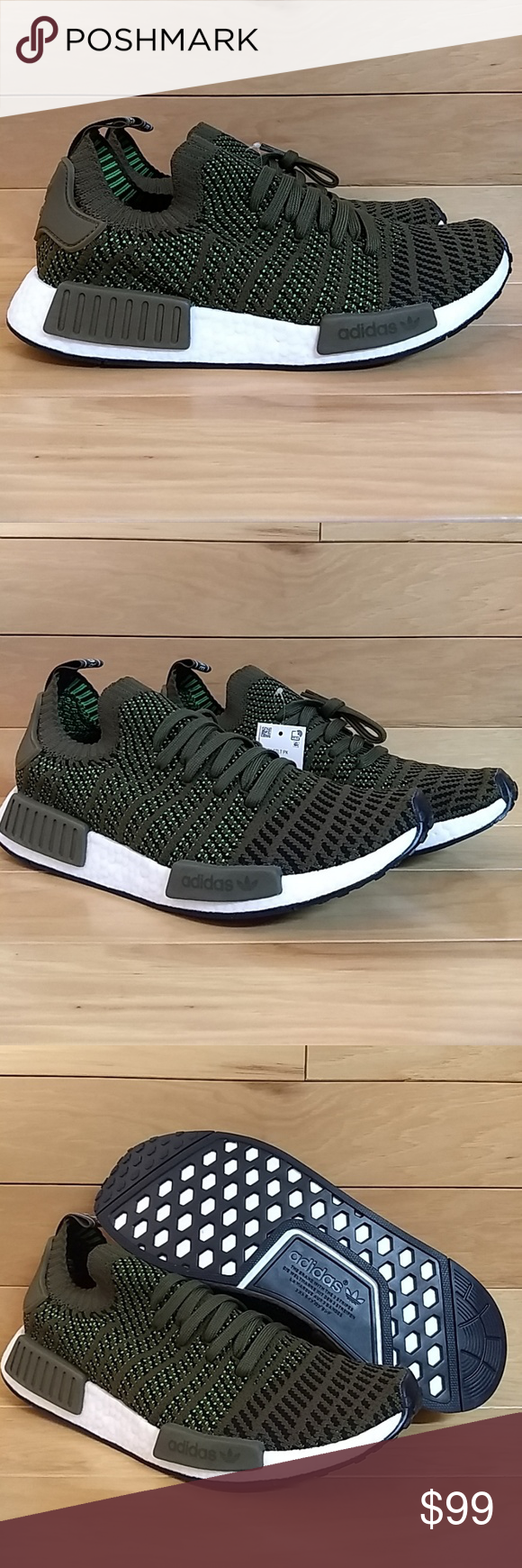 a7902ff8b4e13 Adidas NMD R1 STLT PK Trace Olive Green CQ2389 Item  Adidas NMD R1 Stlt Pk  Code  CQ2389 Size  10 Condition  New. With Box. Will ship double boxed.