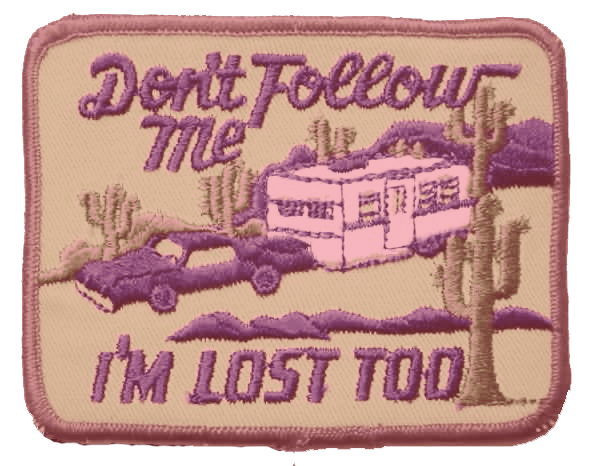 Lol! Seriously, I'm always getting lost. Haha Pin