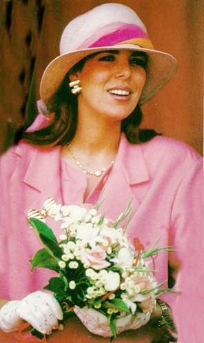 1987 - Princess Caroline at the Formula 1 Grand Prix of Monaco