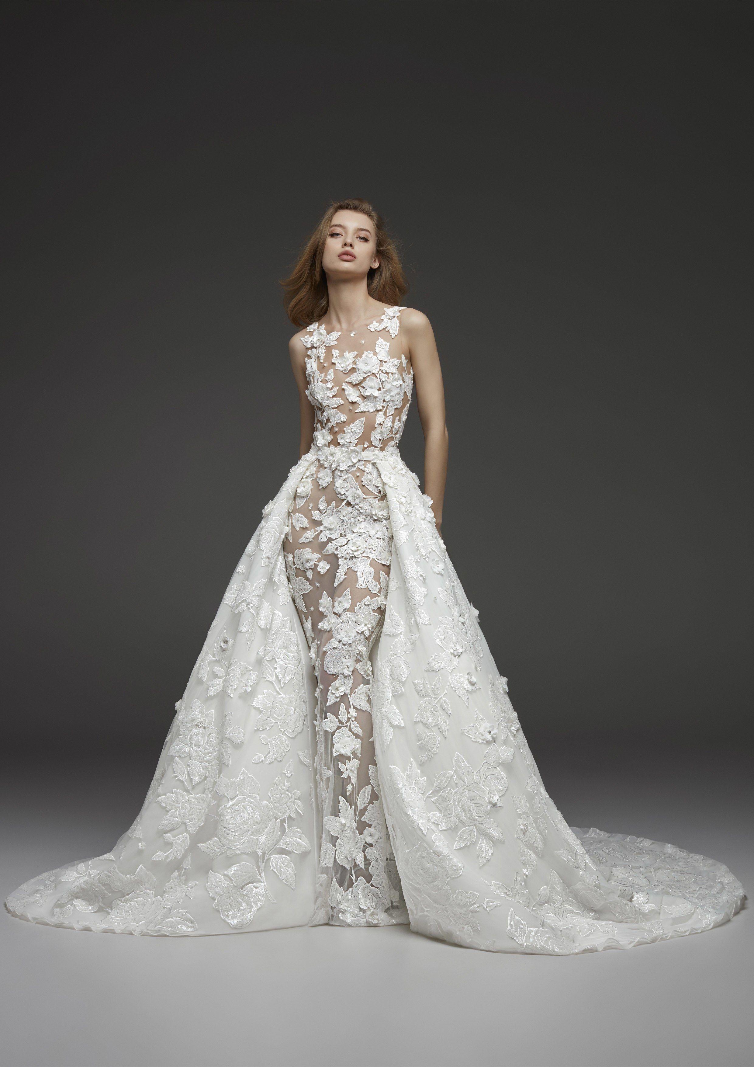 cb4f83c812c Pronovias Bridal   Wedding Dress Collection Fall 2019