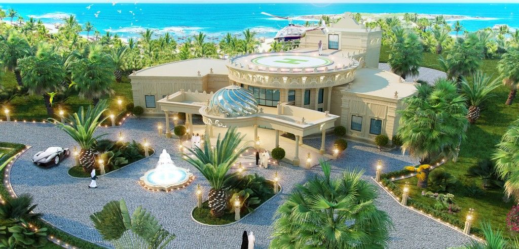 Exceptional Professional HOUSE PROJECT In Qatar By Luxury Antonovich Design