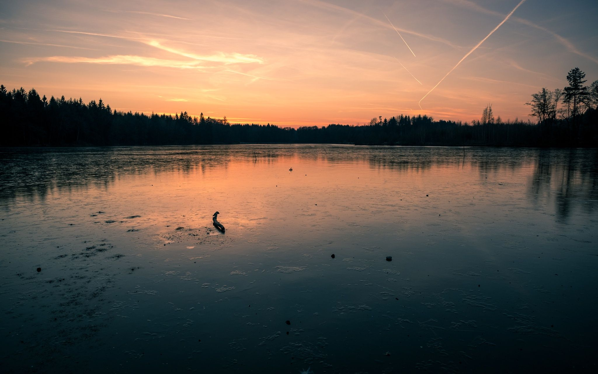 The Frozen Lake - Follow my photographic journey on my blog: http://www.tommayphotography.com/
