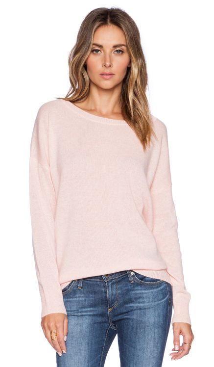 360 Sweater Ellis Pullover in Carnation REVOLVE