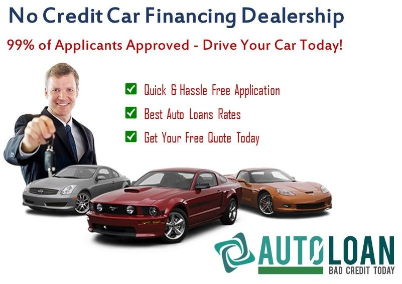 No Money Down Car Dealers >> No Credit Car Financing Dealership Offer Easily Manageable
