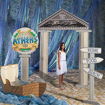 Athens Greece Kit, Athens Greece Decorations Kit  Greece party