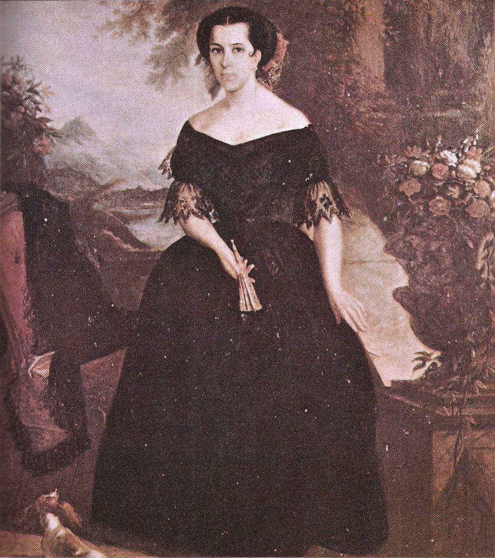 Baronesa de Cotegipe, Antônia Teresa de Sá Rocha Pita e Argolo - 1857