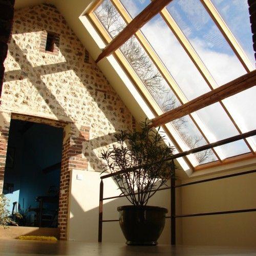 Verriere De Toit Fixe Nos Realisations Atelier Bailleul Verriere De Toit Deco Chambre Sous Comble Renovation Maison Ancienne